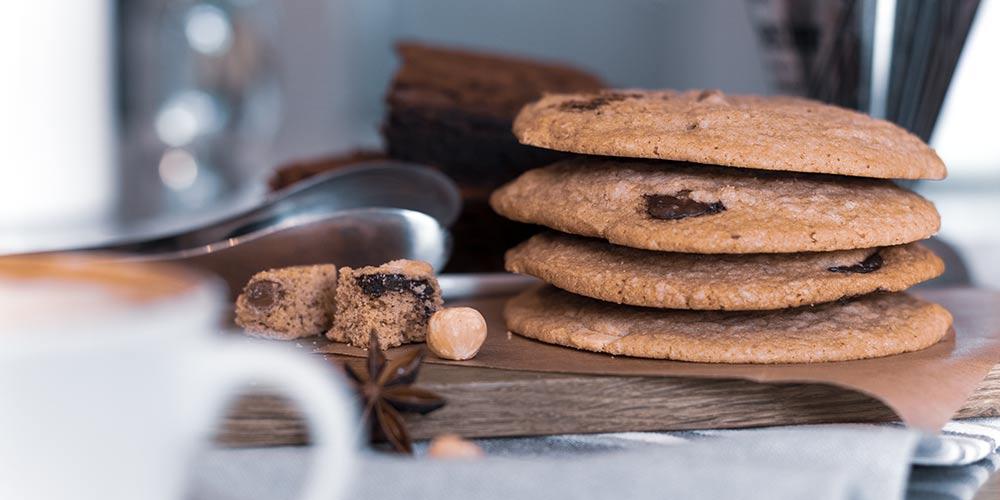Schoko-Cookies im Eis-Gipfel